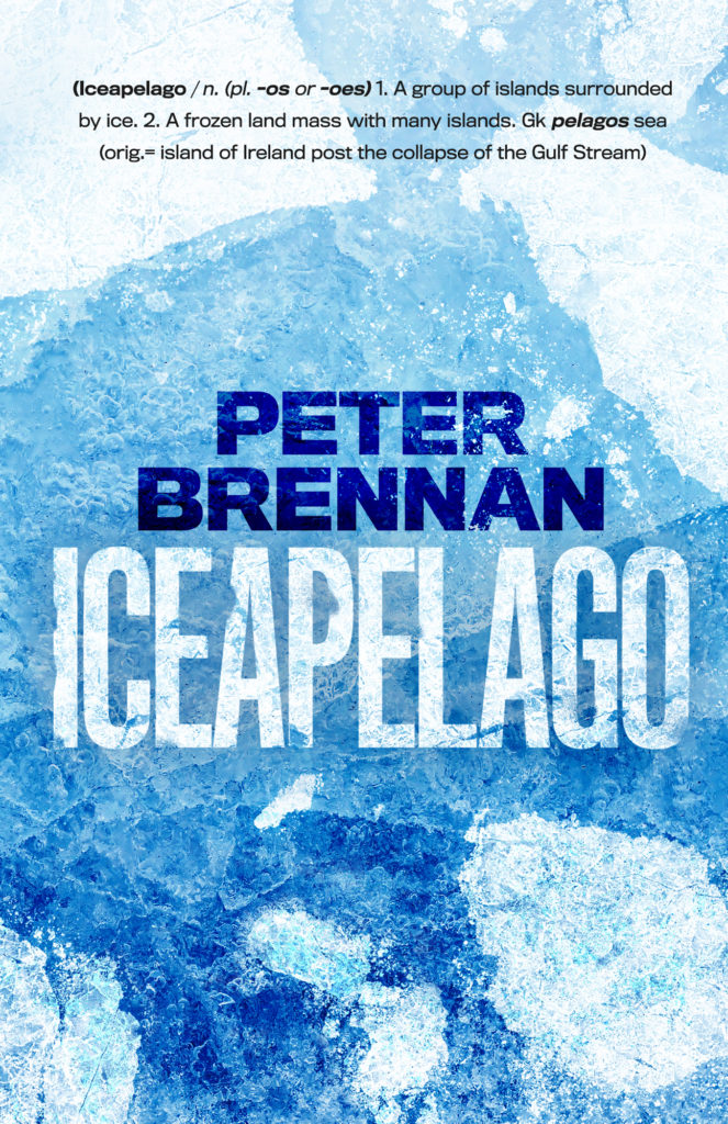 Book cover of the book Iceapelago by Peter Brennan